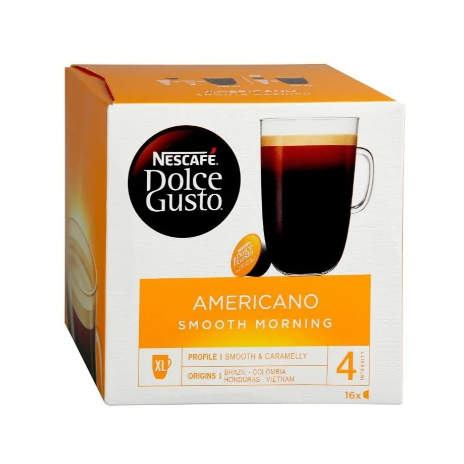 Кофе в капсулах Dolce Gusto Smooth Morning (16 порций)