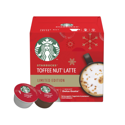 Кофе в капсулах Dolce Gusto Starbucks Toffee Nut Latte (6 порций)