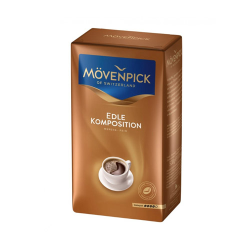 Кофе молотый Movenpick Der Edle Komposition 500 г